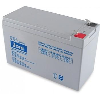 Batteria Ricaricabile al piombo 12V 7Ah - BAT16 - ePlan BAT 6FM7.2