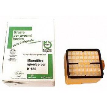 Filtro Hepa ORIGINALE scopa elettrica Folletto VK 135 - 136 - 04857