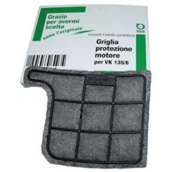 Griglia filtro protezione motore scopa elettrica Folletto VK 135-136 - Folletto 04866