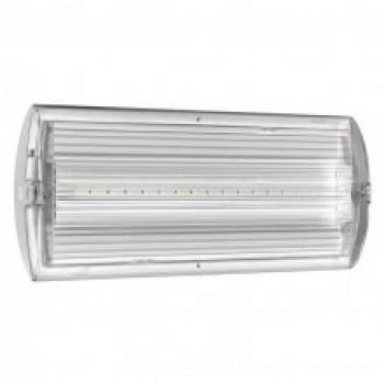 Lampada emergenza 8 LED 2h Ultra Piatta da esterno/incasso IP42 - EATON LeDus8