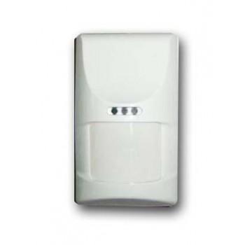 ATM40-D PET - Fotocellula/Sensore infrarosso PIR + microonda doppia/tripla tecnologia 12x12m + rilevamento animali, con snodo