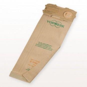 Confezione n.8 sacchetti adattabile scopa elettrica Folletto VK120-121-122