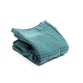 Sacco in tela verde a quadretti filtrante imbottito adattabile scopa elettrica Folletto VK 121