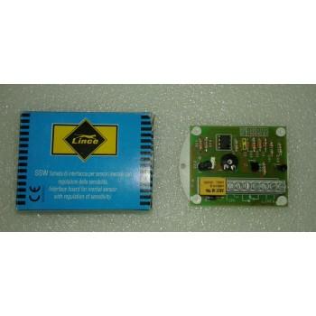 Scheda di Interfaccia per sensori inerziali con regolazione della sensibilità - Lince 413 SSW2