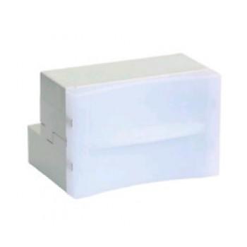 """Lampada emergenza a LED da incasso estraibile """"Volta"""" - TecnoSwitch LA108EM"""