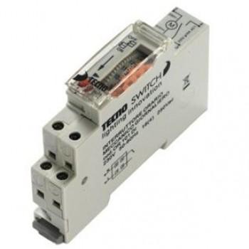 Interruttore orario elettromeccanico giornaliero 1 DIN - TecnoSwitch OR101DI