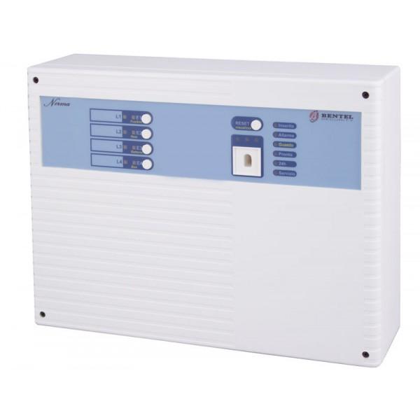 BENTEL NORMA8Z+GSM - Centrale antifurto 8 zone con inseritore trasponder ECL2UKR + 3 chiavi ...