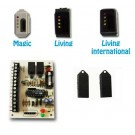 Kit n.3 chiavi a microprocessore con 2 relè + n.1 inseritore adatt.bticino Magic - SK2R