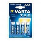 Pila Alkalina Ministilo AAA 1,5V HIGH ENERGY in blister 4pz - VARTA 4903121414