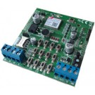 Combinatore GSM per centralina allarme, 3 ingressi, 2 uscite con antenna integrata - ETVOICEPLUGIN