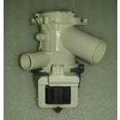 Elettropompa lavatrice 30W con 2 tubetti drenaggio aperti adattabile BEKO 2840940500 - 00215485