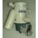 Elettropompa con tubetto di drenaggio aperto adattabile Candy/Hoover 41018403 - 00215478
