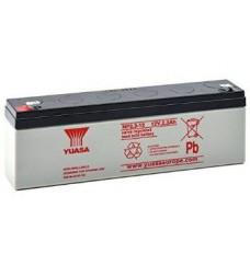 Batteria Ricaricabile al piombo valve regulated 12V 2,3 Ah - YUASA NP2.3-12